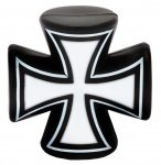 Liix Valves Caps Iron Cross Black