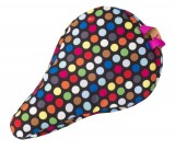Liix Kids' Saddle Cover Polka Big Dots Mix Black