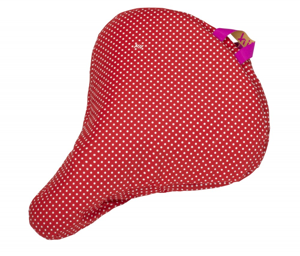 Liix Saddle Cover Polka Dots Red