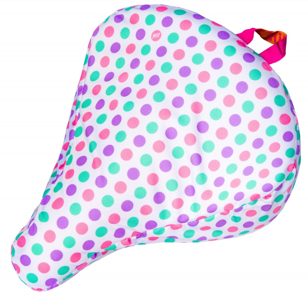 Liix Saddle Cover Polka Big Dots Pastel Mix