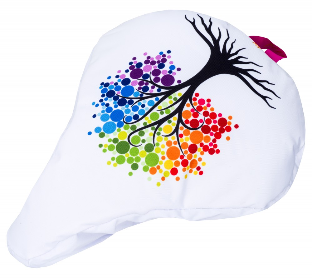 Liix Saddle Cover Tree of Dots